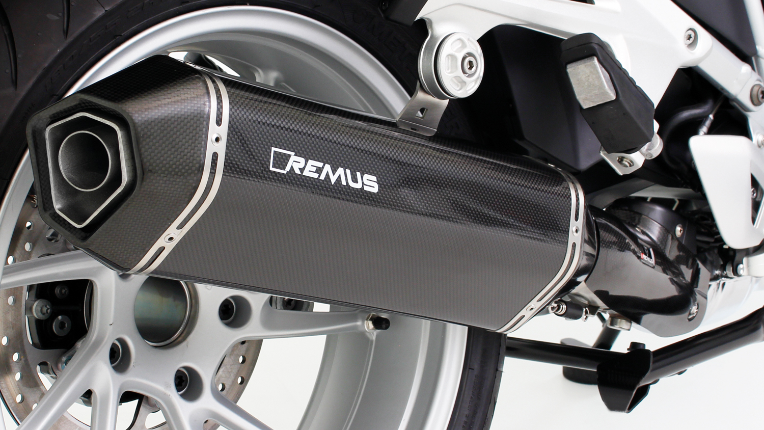 REMUS HEXACONE silencer carbon BMW R 1200 RT from 2017, EEC - Image 3